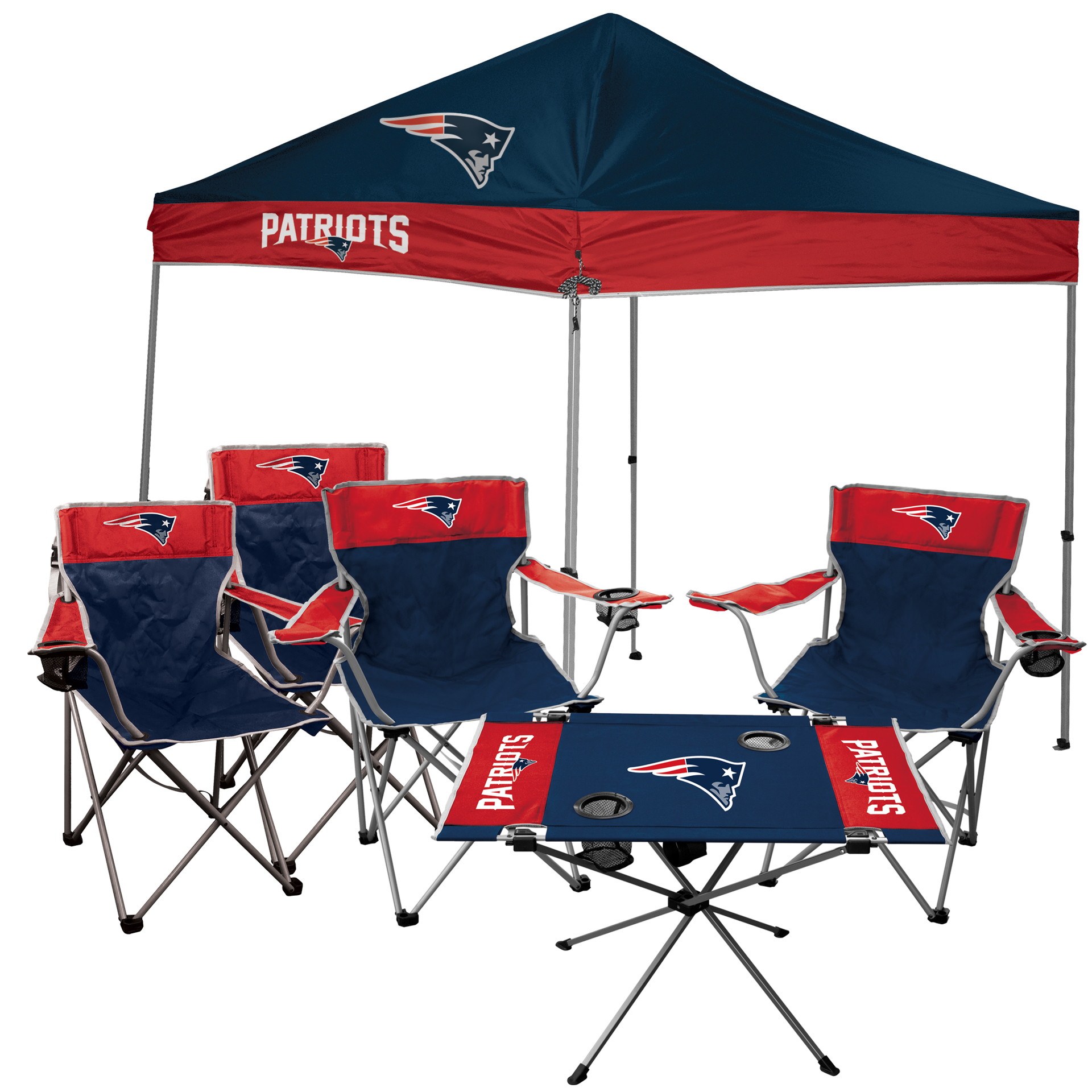New England Patriots Rawlings Large Tailgate Kit No Size by Jarden