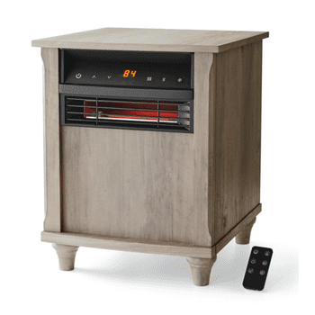 Mainstays 6 Element Wood Finish Infrared Quartz Heater
