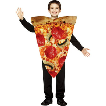 Kids Pizza Costume (Pizza Slice Child Costume - One)