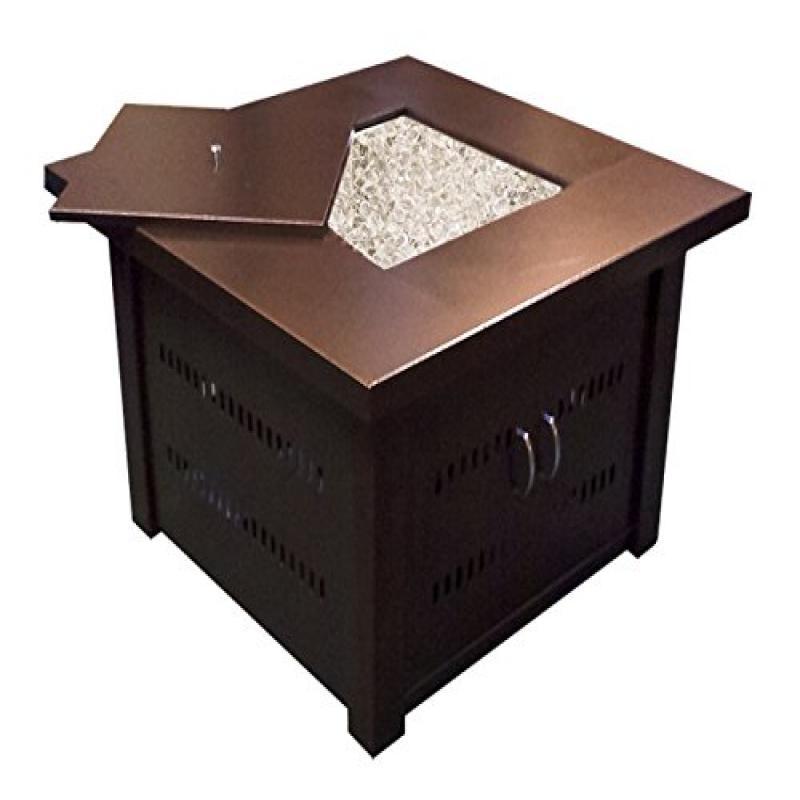 AZ Patio Heaters GS-F-PC Propane Fire Pit, Antique Bronze...