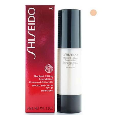 Shiseido  Radiant  Very Light Ivory Lifting Foundation SPF 17 ()