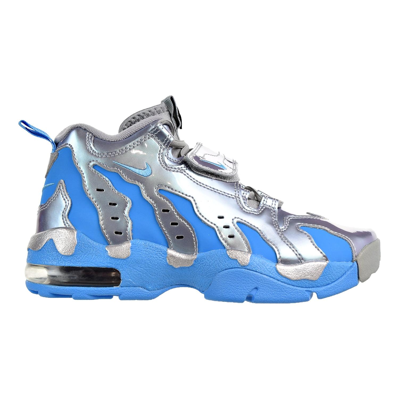 5d24e55076 ... new style nike air dt max 96 mens shoes metallic silver vivid blue  black 616502 d0374