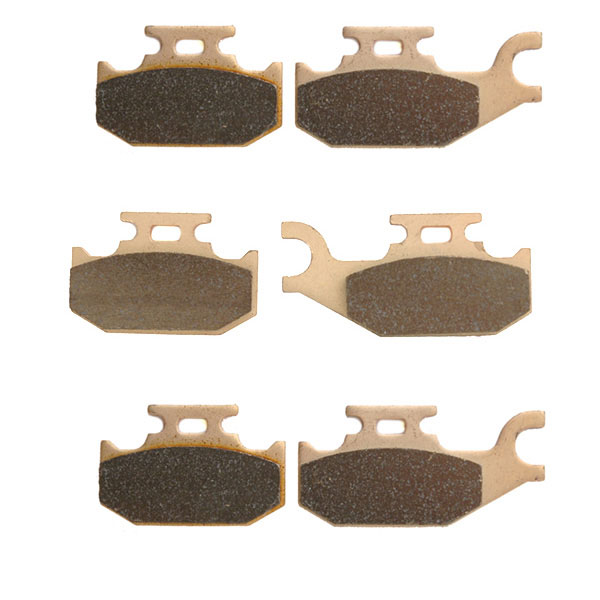2007-2008 CAN AM Outlander 800 STD 4x4 Sintered HH Front & Rear Brake Pads