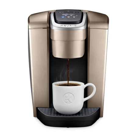 Keurig K-Elite Single-Serve K-Cup Pod Coffee Maker with Iced Coffee Setting - Gold