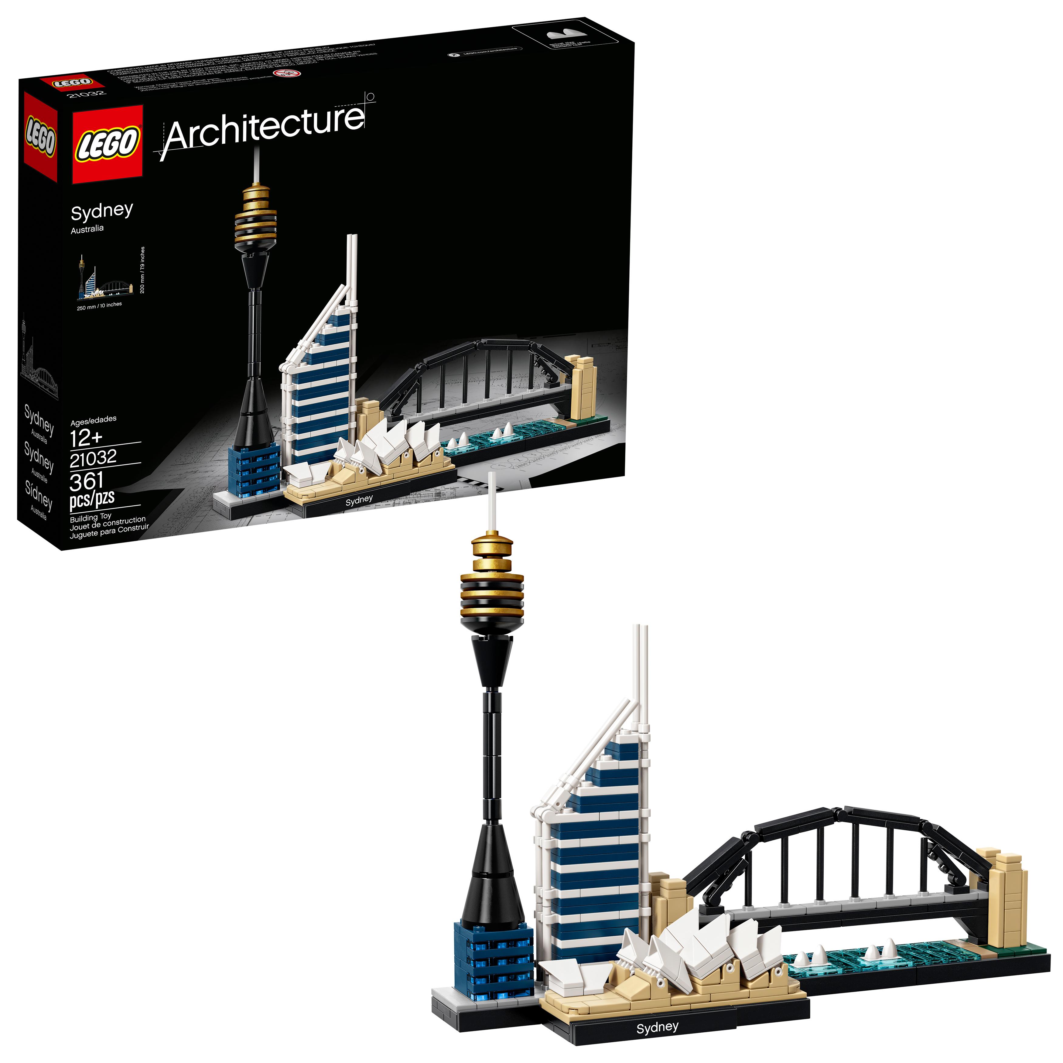 LEGO Architecture Sydney 21032 Building Set (361 Pieces)