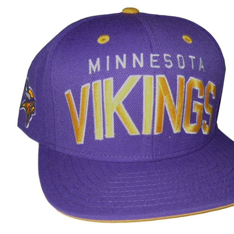 Reebok Minnesota Vikings Purple Snapback Adjustable Hat