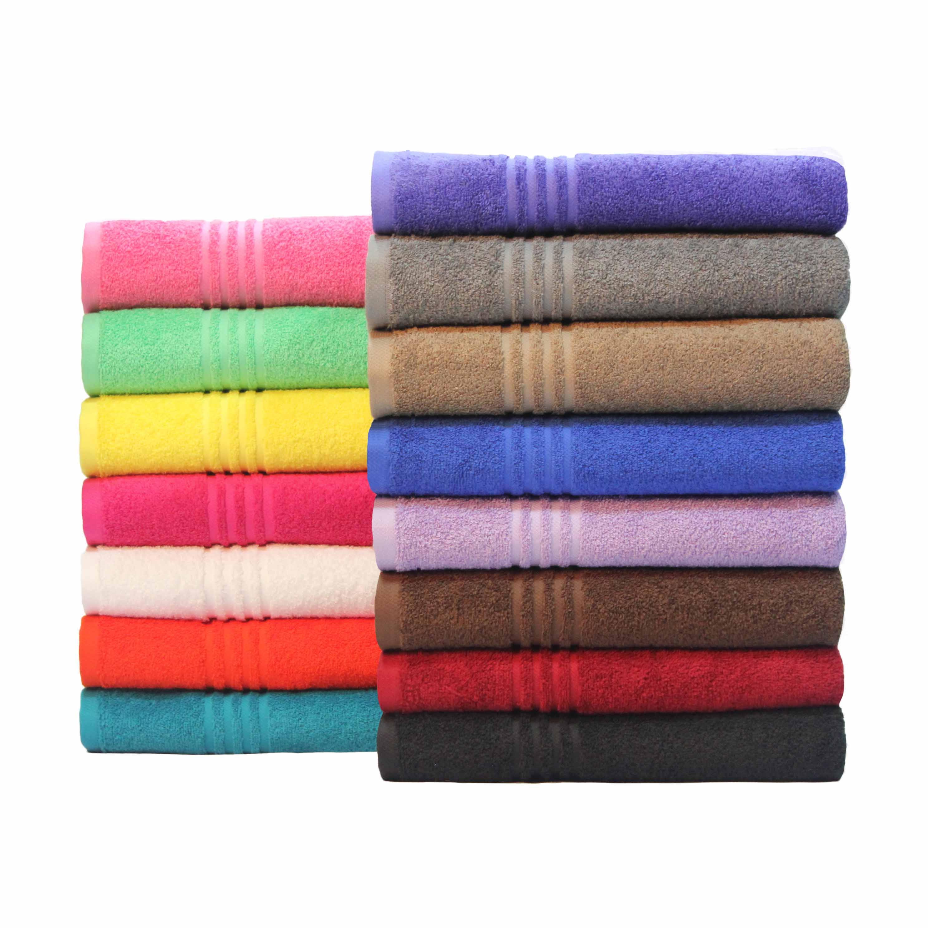 Mainstays Essential True Colors Bath Towel Collection, 1 Each
