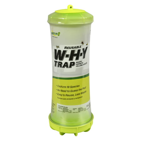 Rescue Wasp, Hornet & Yellowjacket Trap, 1 Pack