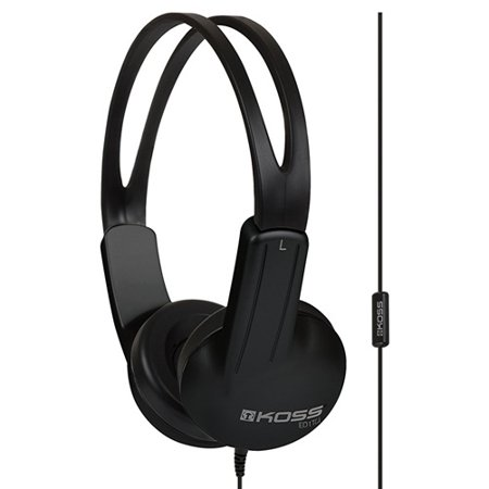 koss 184523 ed1tci over ear headphones with microphone. Black Bedroom Furniture Sets. Home Design Ideas