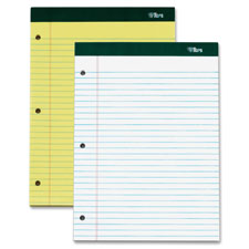 TOPS BUSINESS FORMS                                Legal Pad,Perf.,Legal Rule,3HP,100 Sh,8-1/2''x1-3/4'',3/PK,WE