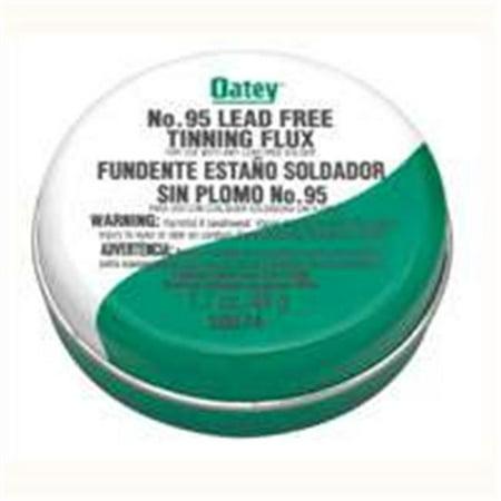 - Oatey Lead Free No. 95 Silver Solder Tinning Flux 1.7 OZ 30374
