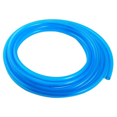 Engine Gas Fuel Oil Injection PU Line Tubing Tube 8mmx12mm Dia 16.5Ft Clear Blue - image 3 of 3