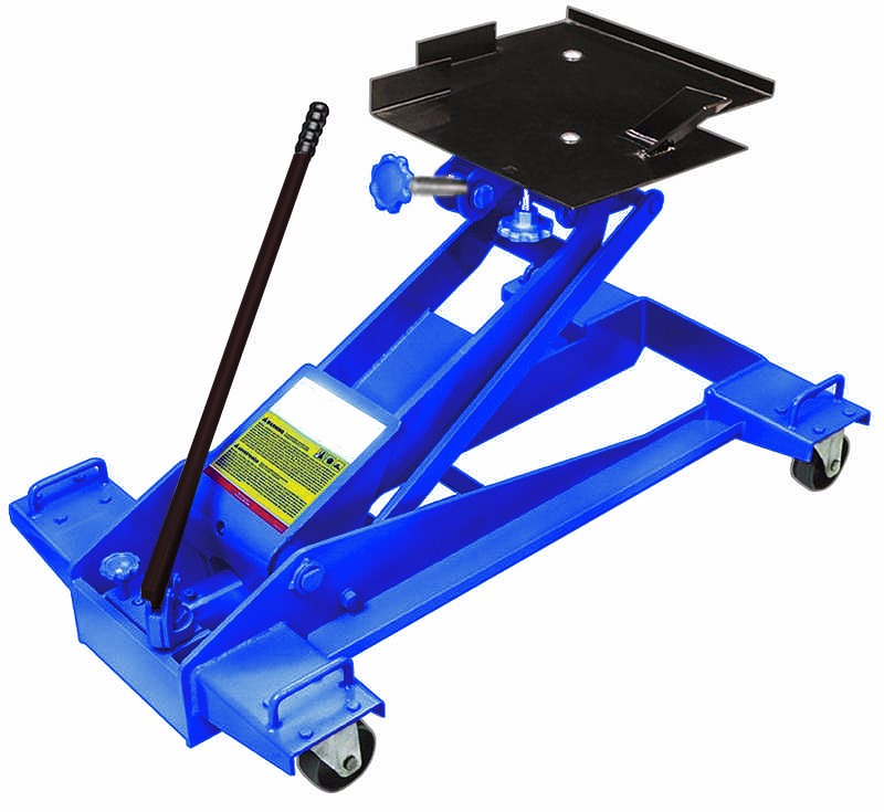 1Ton Hydraulic Telescopic Transmission Jack SwivelLift