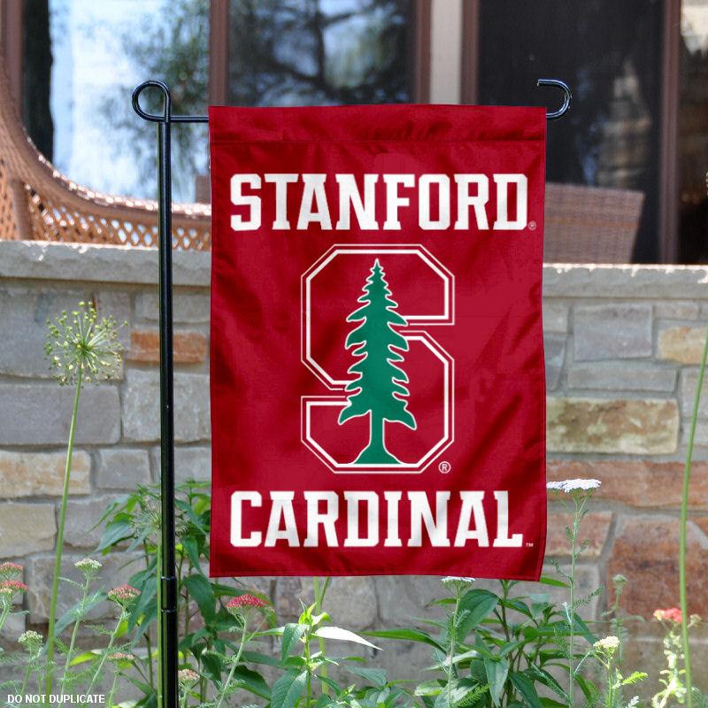 """Stanford Cardinal 13"""" x 18"""" College Garden Flag"""