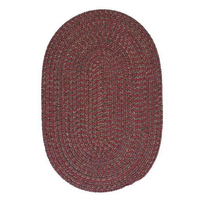 Colonial Mills Hayward Berry Red Area Rug