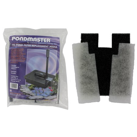 Pondmaster 12195 Coarse Foam Pad Replacement Filter - Set of 2 ()
