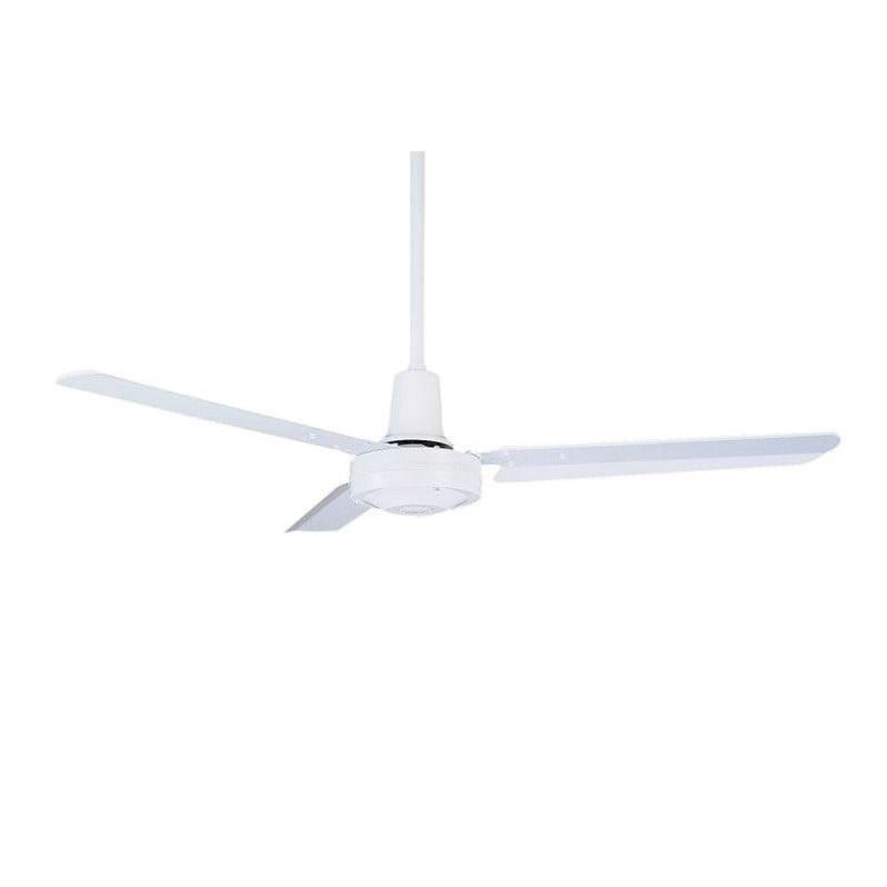 """Emerson Industrial 48"""" Ceiling Fan in Appliance White"""