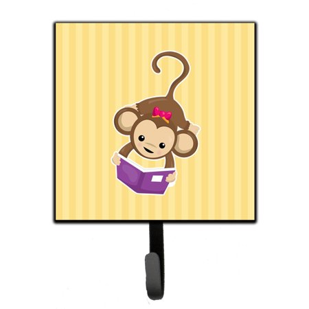 Monkey Reading Leash or Key Holder -
