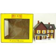 O #6 Farm House Maroon Yellow MTH3090253