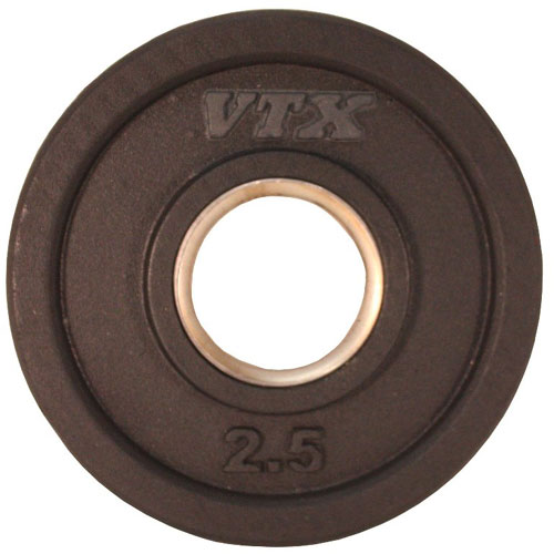 VTX by Troy Barbell 2.5 lb. Rubber Olympic Grip Plate