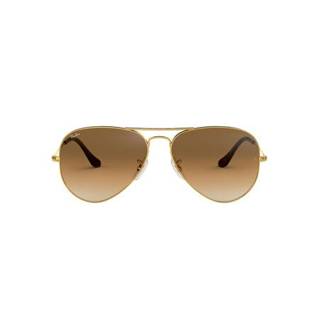 Ray-Ban RB3025 Aviator Large Metal Sunglasses (Aviator Kunststoff-sonnenbrille)
