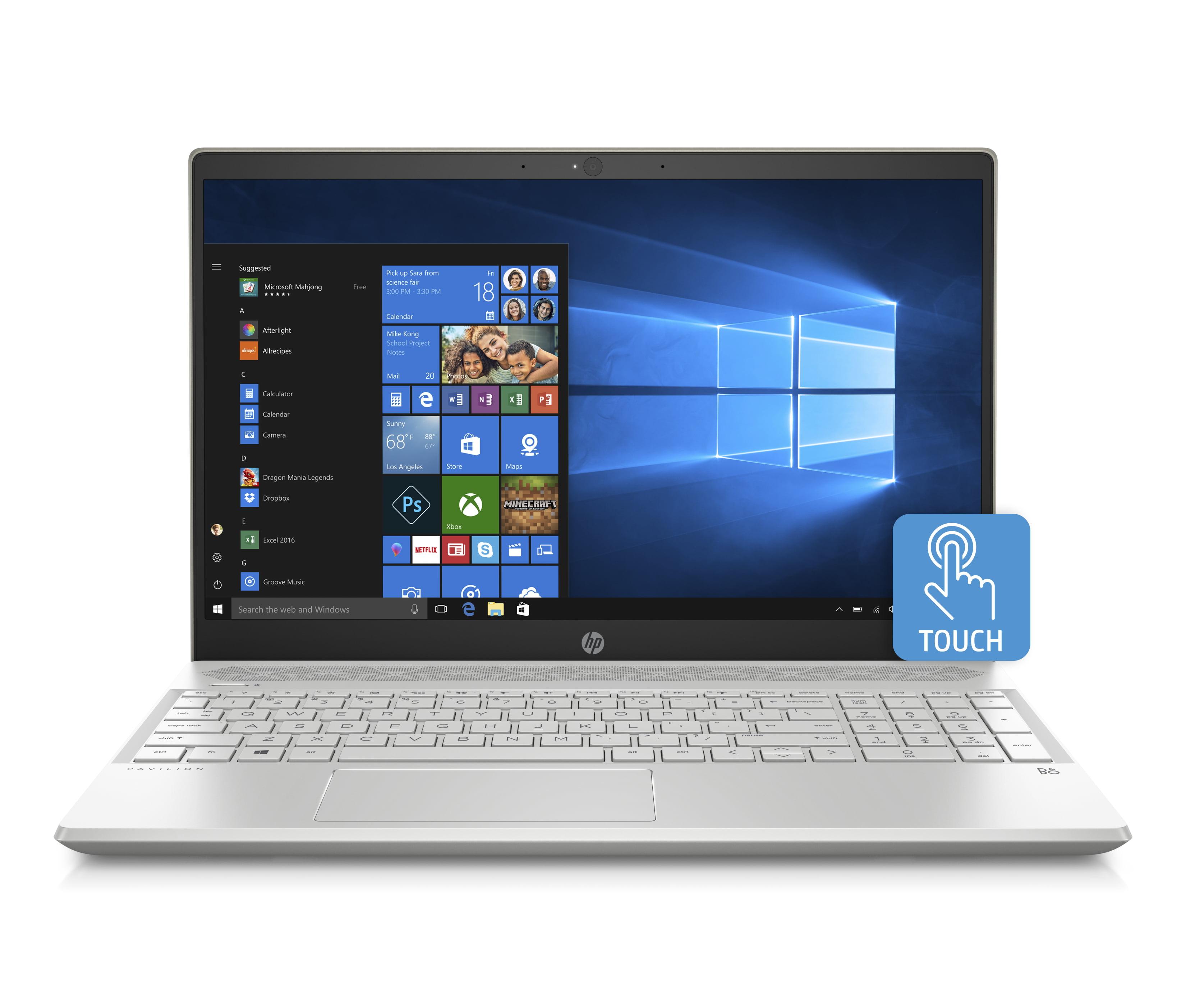 "HP Pavilion 15 Laptop 15.6"" Touchscreen, Intel Core i5-8250U, Intel UHD Graphics 620, 1TB HDD + 16GB... by HP"