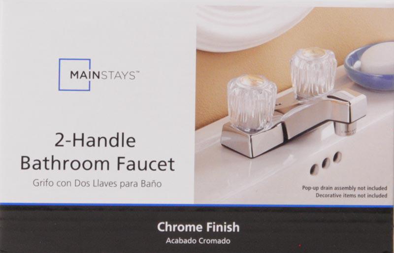 Mainstays Chrome Bath Faucet See More Hot 100 Bathroom