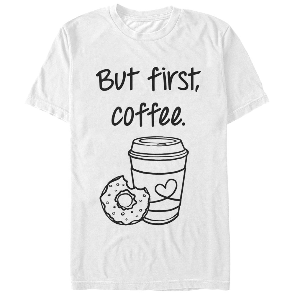 Chin Up Women's But First Coffee Cup T-Shirt
