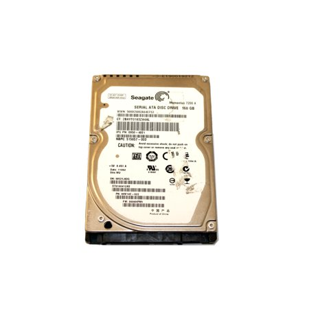 Seagate Momentus 40 Gb - REFURBISHED ST9160412AS Seagate Momentus 7200.4 160 GB 7200 rpm 2.5 inch Internal SATA Hard Drive 9HV14C-022