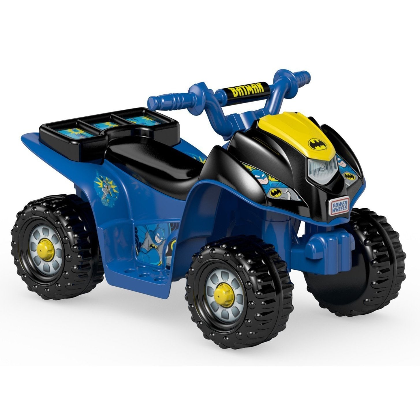 Power Wheels Batman Lil' Quad Ride-On by Overstock