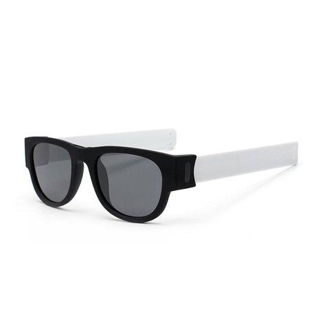 Fashion UV400 Folding Sunglasses Funny Eyewear for Men Women Outdoor Riding Sports (Beach Eyewear)