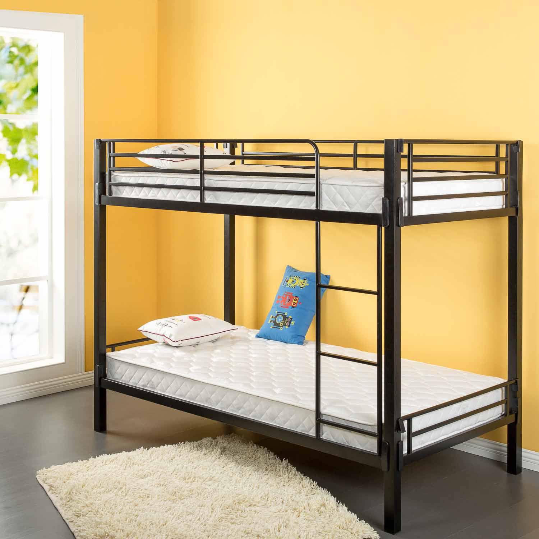 "Sleep Revolution Spring 6"" Bunk Bed Mattress Twin Walmart"