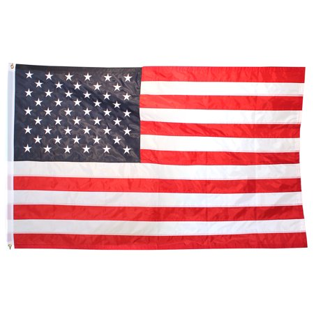6ft x 10ft Superstream Sewn Nylon American Flag American Standard 6ft Baths