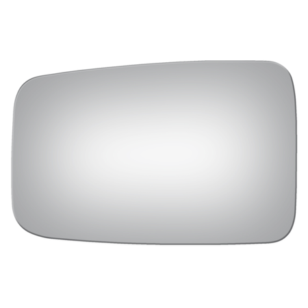 New Flat Driver Side Manual Replacement Mirror Glass For 84-92 Jeep Cherokee