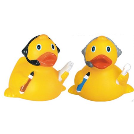Goodview Industries IS-0410 Headset Rubber Duck Toy (Rubber Ducks For Sale)