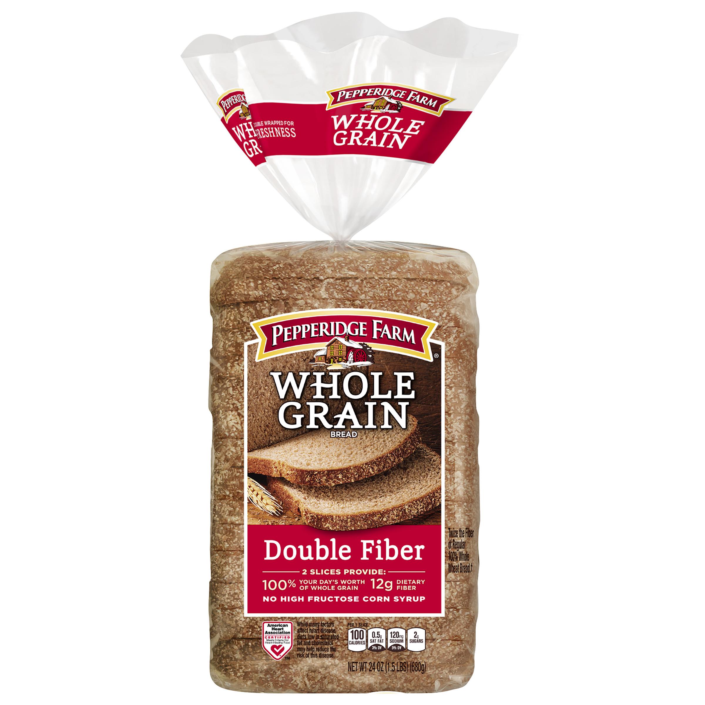 Pepperidge Farm® Whole Grain Double Fiber Bread 24 oz. Bag