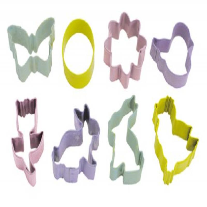 R & M Mini Easter Cookie Cutter Set with Gift Box