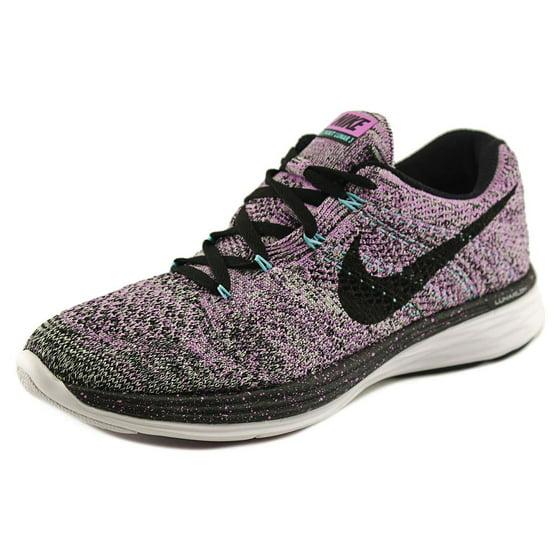 93340ec7561 Nike - Nike Flyknit Lunar 3 Women US 7.5 Purple Running Shoe ...