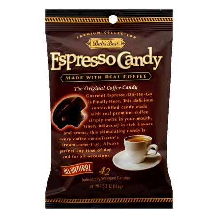 - BalisBest Coffee Candy Espresso 100% Natural, 5.3 OZ (Pack of 12)