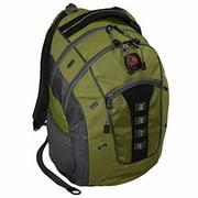 "SwissGear Granite 16"" Padded Laptop Backpack/School Travel Bag (Olive Green)"