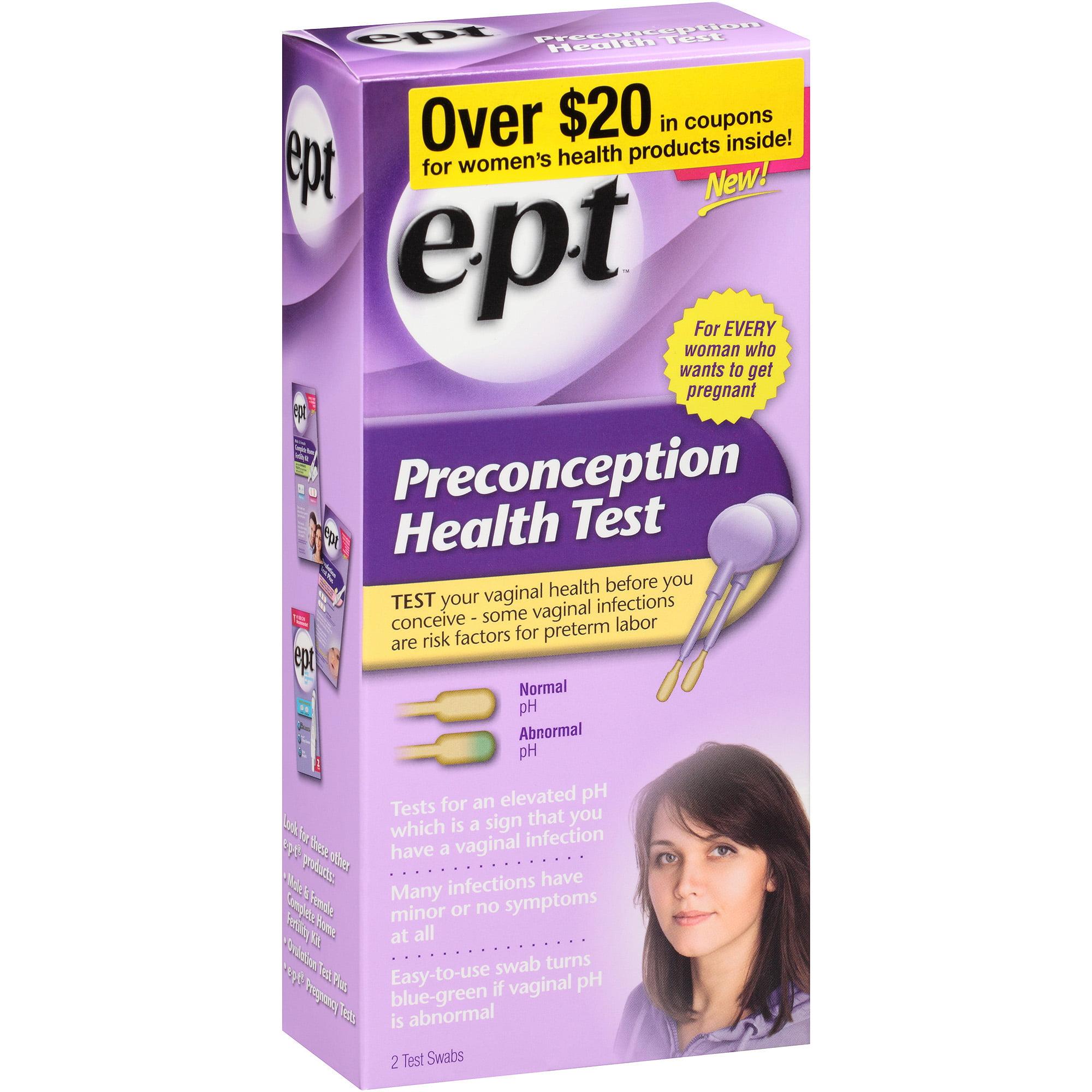 E.P.T. Preconception Health Test, 2 count