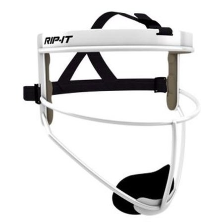 Rip It Defense Softball Fielders Mask  White  Youth