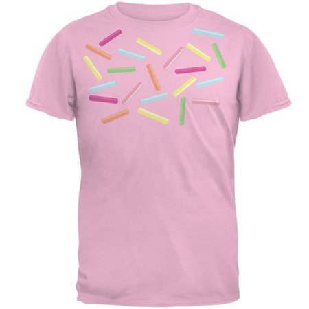 Halloween Ice Cream Names (Halloween Ice Cream Sprinkle Costume Mens T Shirt Light Pink)