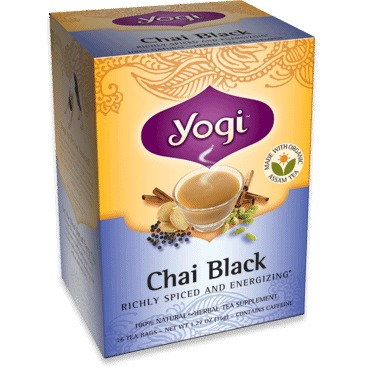 Chai/Black Tea (Organic) Yogi Teas 16 Bag