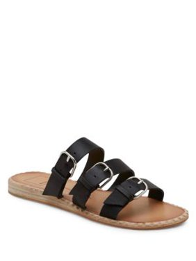 Para Buckle Slide Sandals
