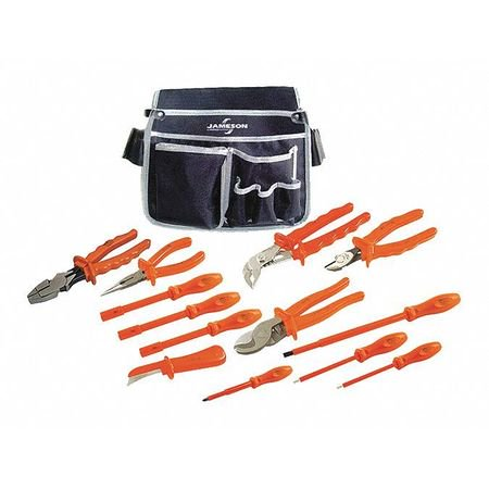 JAMESON/ITL 00004 Insulated Tool Set,13 pc. ()