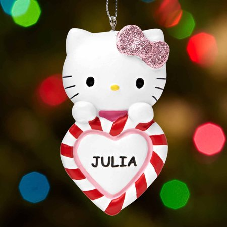 Personalized Hello Kitty Christmas Ornament - Walmart.com