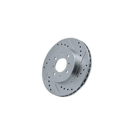 power stop ar8255xr cross drilled and slotted performance brake rotor - right