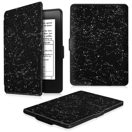 Fintie SlimShell Case for Amazon Kindle Paperwhite Gen Prior to 2018, Not Fit All-new Paperwhite 10th Gen, Constellation ()