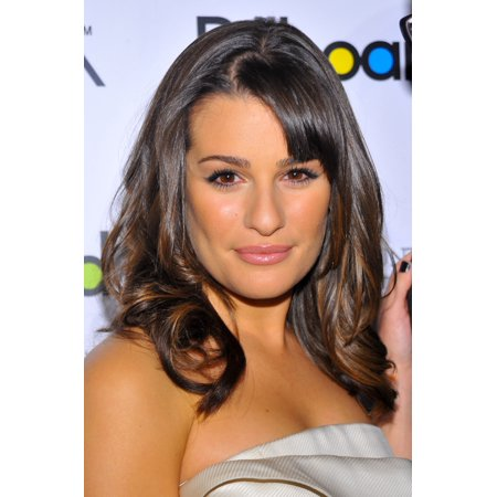 Lea Michele At Arrivals For Billboards Fifth Annual Women In Music Awards The Pierre Hotel New York Ny December 2 2010 Photo By Gregorio T Binuyaeverett Collection Photo Print
